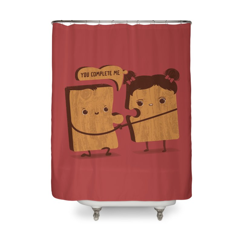 made for each other  Home Shower Curtain by mohacsy's shop of witchcraft, wizardry and art:)