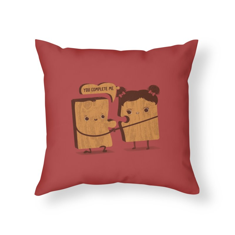 made for each other  Home Throw Pillow by mohacsy's shop of witchcraft, wizardry and art:)