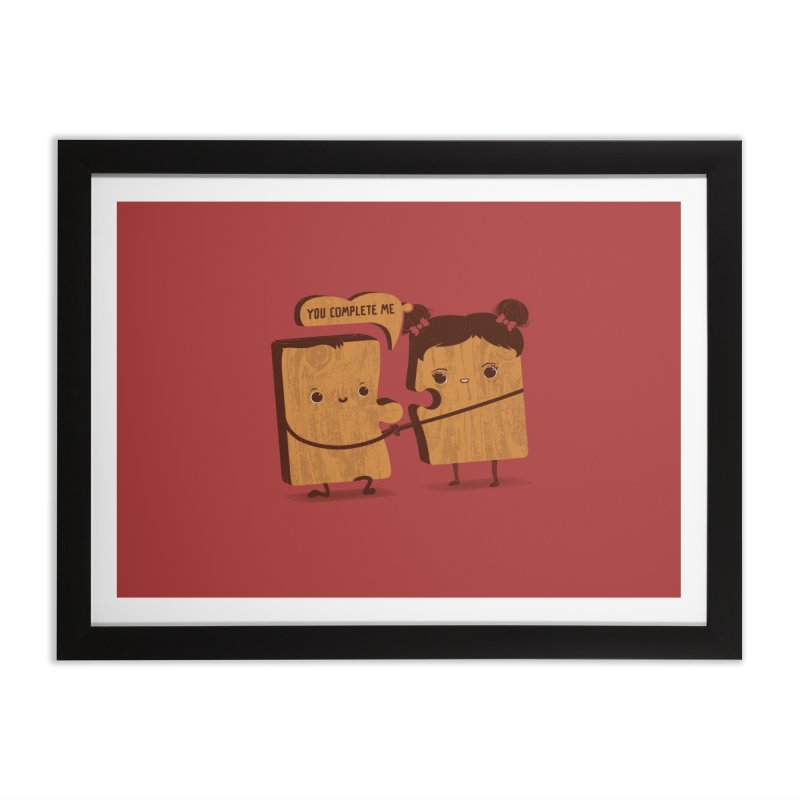 made for each other  Home Framed Fine Art Print by mohacsy's shop of witchcraft, wizardry and art:)