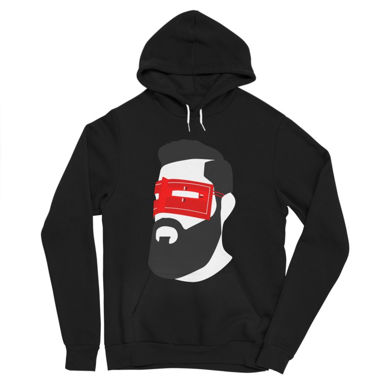 Man with Burqa Men's Sponge Fleece Pullover Hoody by Mohsen Moridi's Art Shop