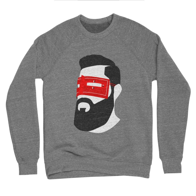 Man with Burqa Men's Sponge Fleece Sweatshirt by Mohsen Moridi's Art Shop