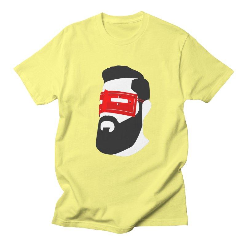 Man with Burqa Men's Regular T-Shirt by Mohsen Moridi's Art Shop