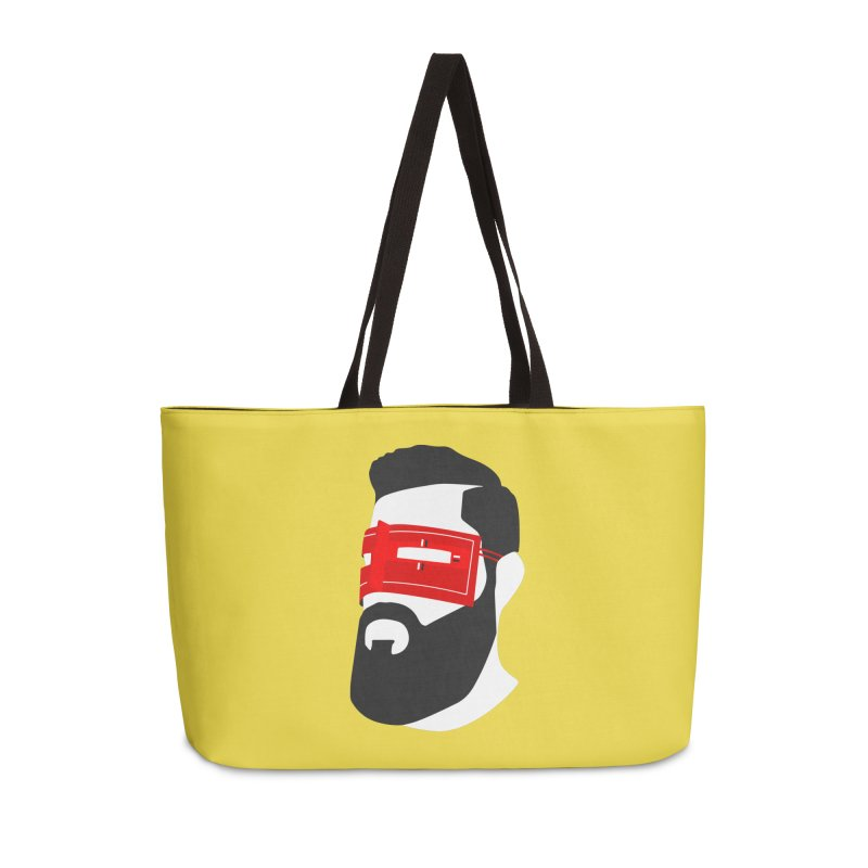Man with Burqa Accessories Weekender Bag Bag by Mohsen Moridi's Art Shop