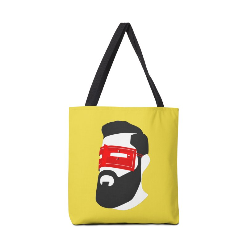 Man with Burqa Accessories Tote Bag Bag by Mohsen Moridi's Art Shop