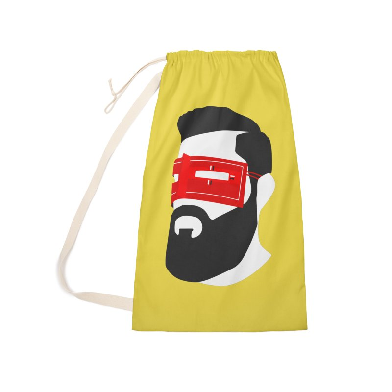 Man with Burqa Accessories Laundry Bag Bag by Mohsen Moridi's Art Shop