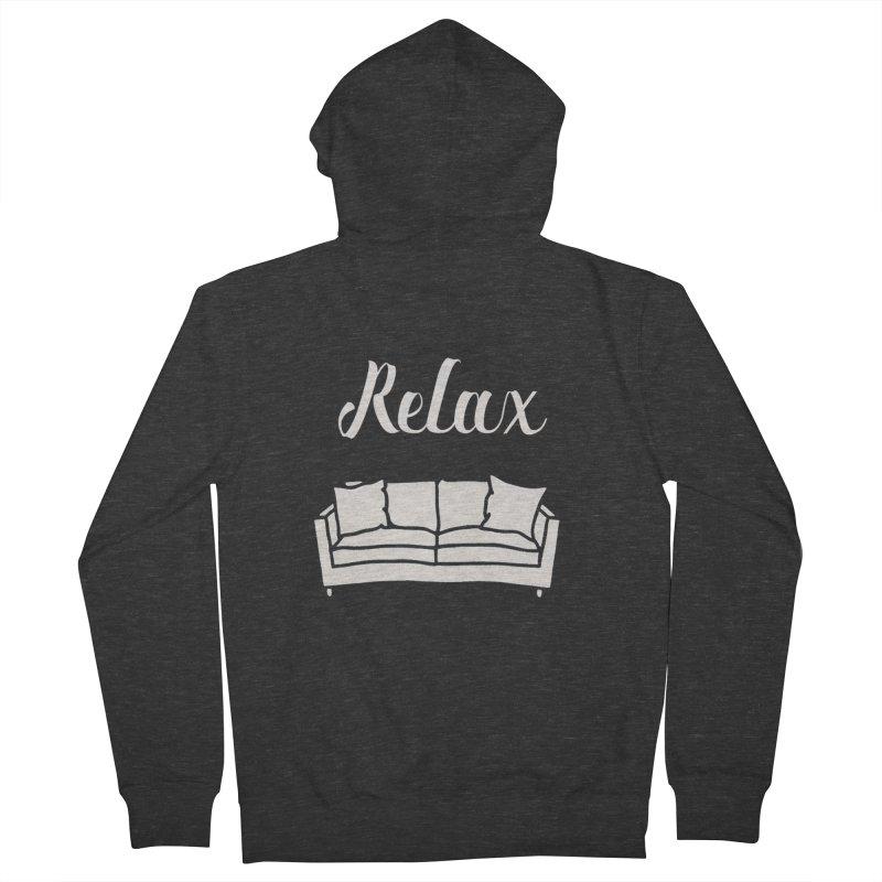 Relax Women's Zip-Up Hoody by mohsherif's Artist Shop