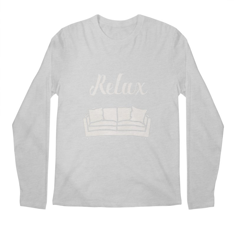 Relax Men's Longsleeve T-Shirt by mohsherif's Artist Shop