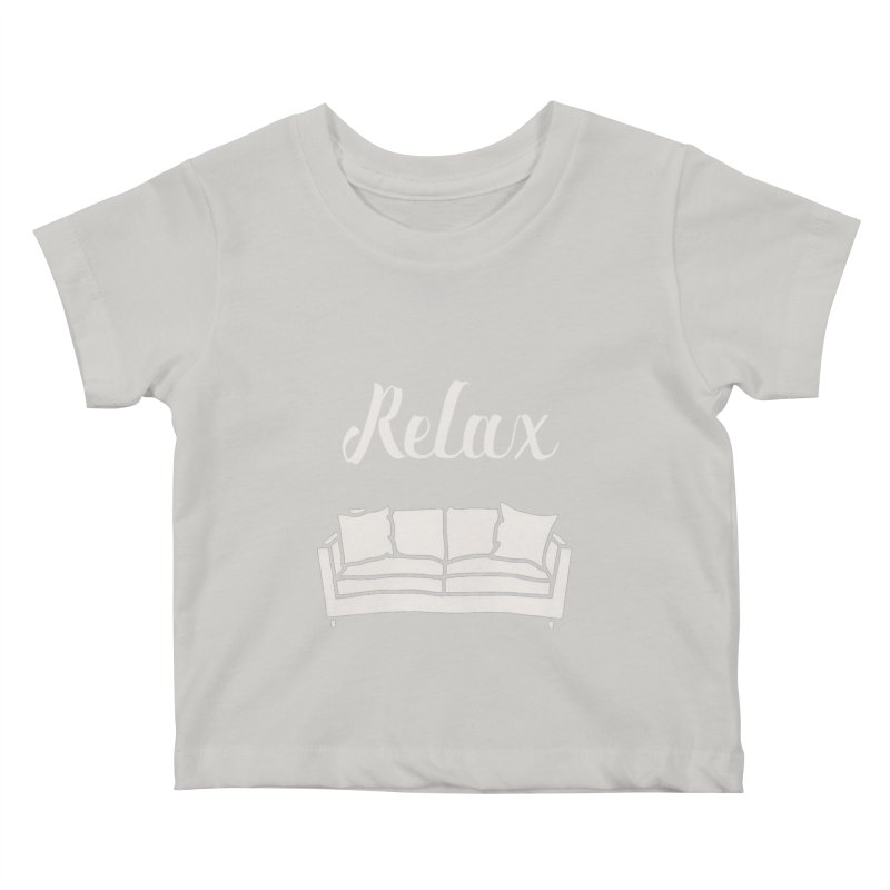 Relax Kids Baby T-Shirt by mohsherif's Artist Shop