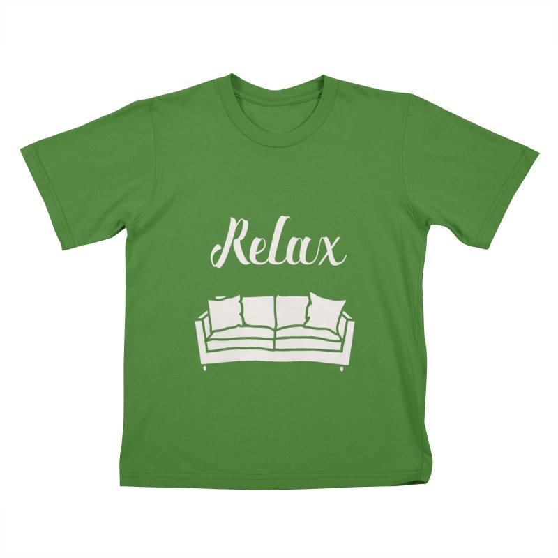 Relax Kids T-Shirt by mohsherif's Artist Shop