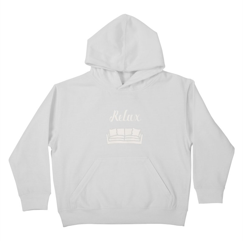 Relax Kids Pullover Hoody by mohsherif's Artist Shop