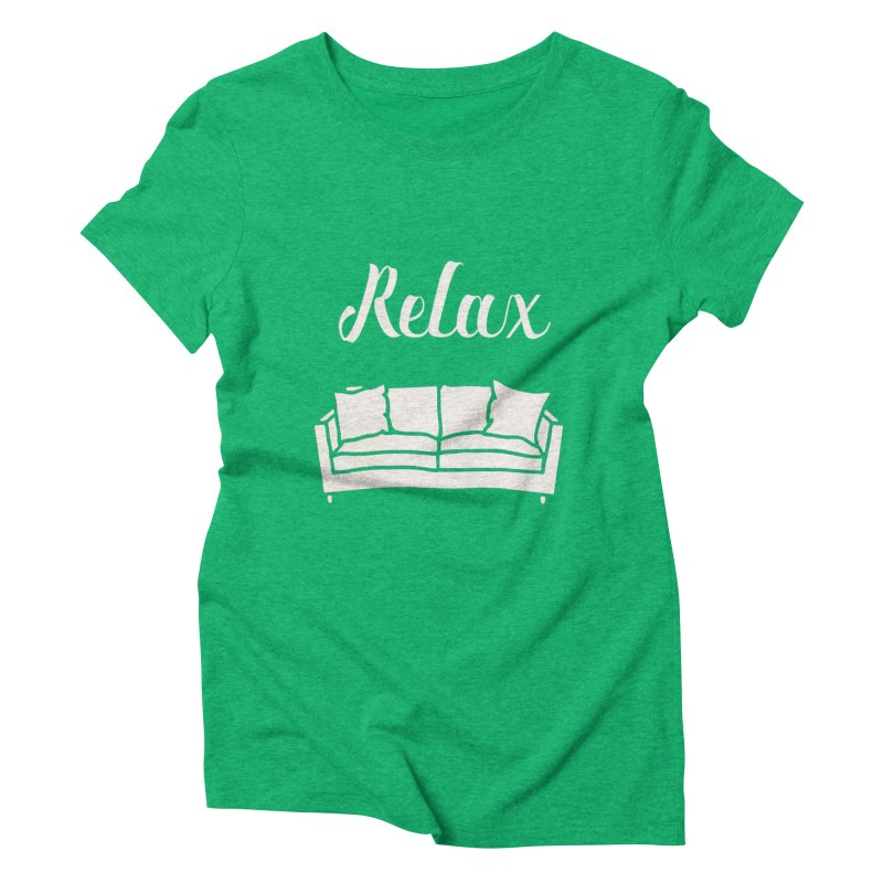 Relax Women's Triblend T-shirt by mohsherif's Artist Shop