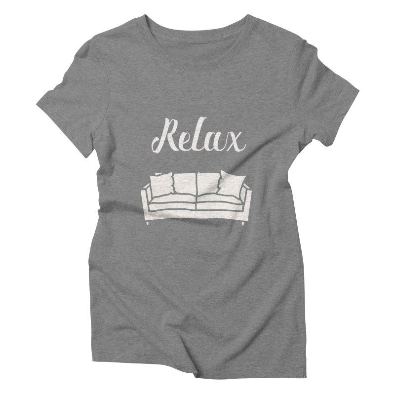 Relax Women's Triblend T-Shirt by mohsherif's Artist Shop