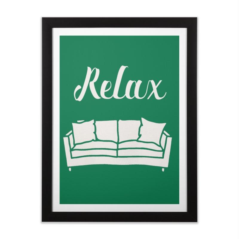 Relax Home Framed Fine Art Print by mohsherif's Artist Shop