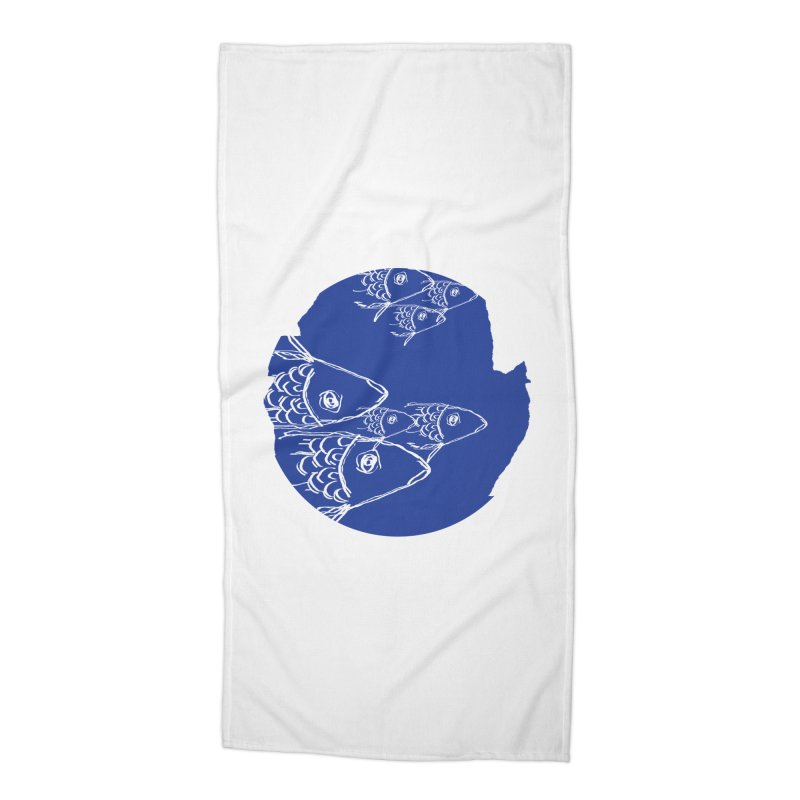 something fishy Accessories Beach Towel by moibhusart's Artist Shop