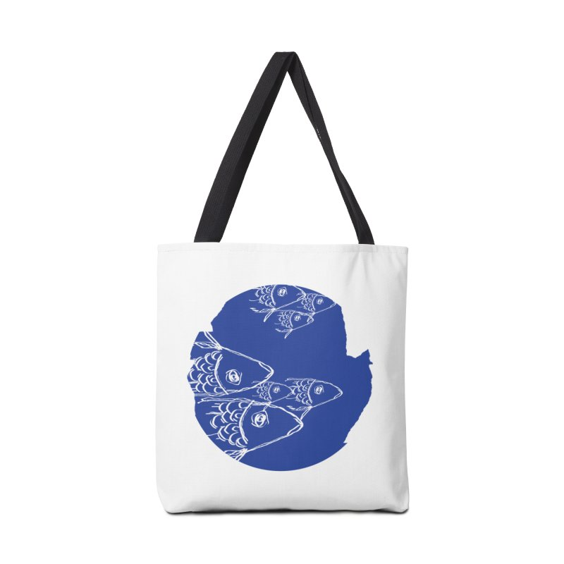 something fishy Accessories Bag by moibhusart's Artist Shop