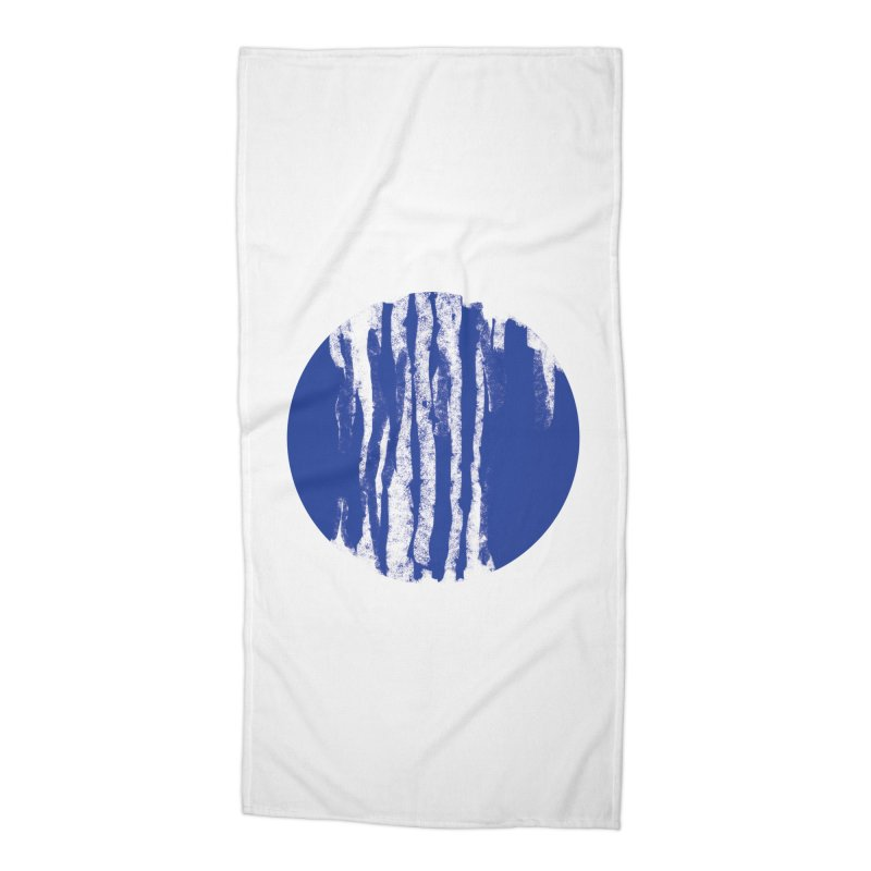 sketchy wave Accessories Beach Towel by moibhusart's Artist Shop