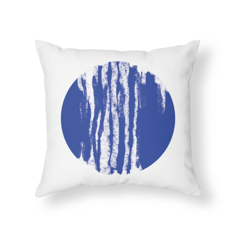 sketchy wave Home Throw Pillow by moibhusart's Artist Shop