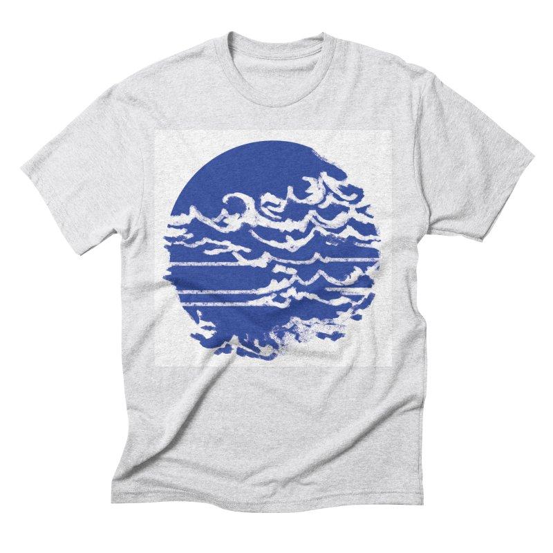 surf up! Men's Triblend T-shirt by moibhusart's Artist Shop