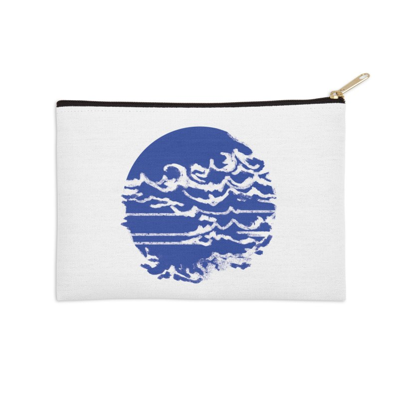 surf up! Accessories Zip Pouch by moibhusart's Artist Shop