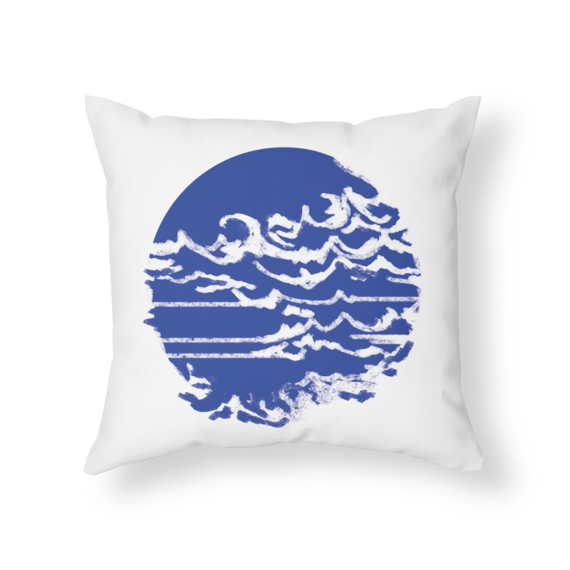 surf up! Home Throw Pillow by moibhusart's Artist Shop