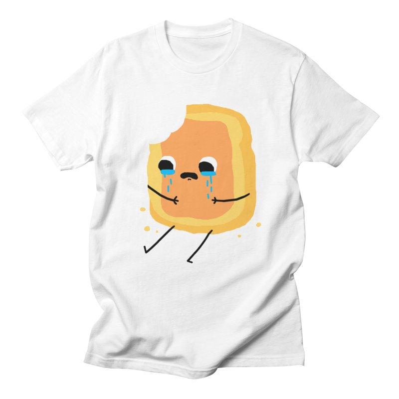 Sad Jam Toast Men's T-shirt by moiseslozano's Artist Shop