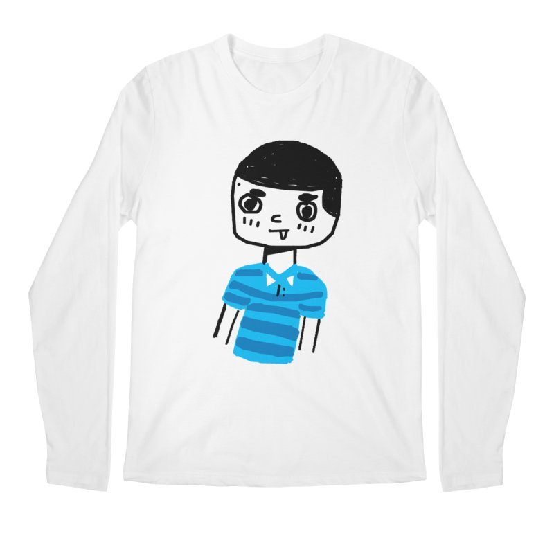 Hello Moisés! Men's Longsleeve T-Shirt by moiseslozano's Artist Shop