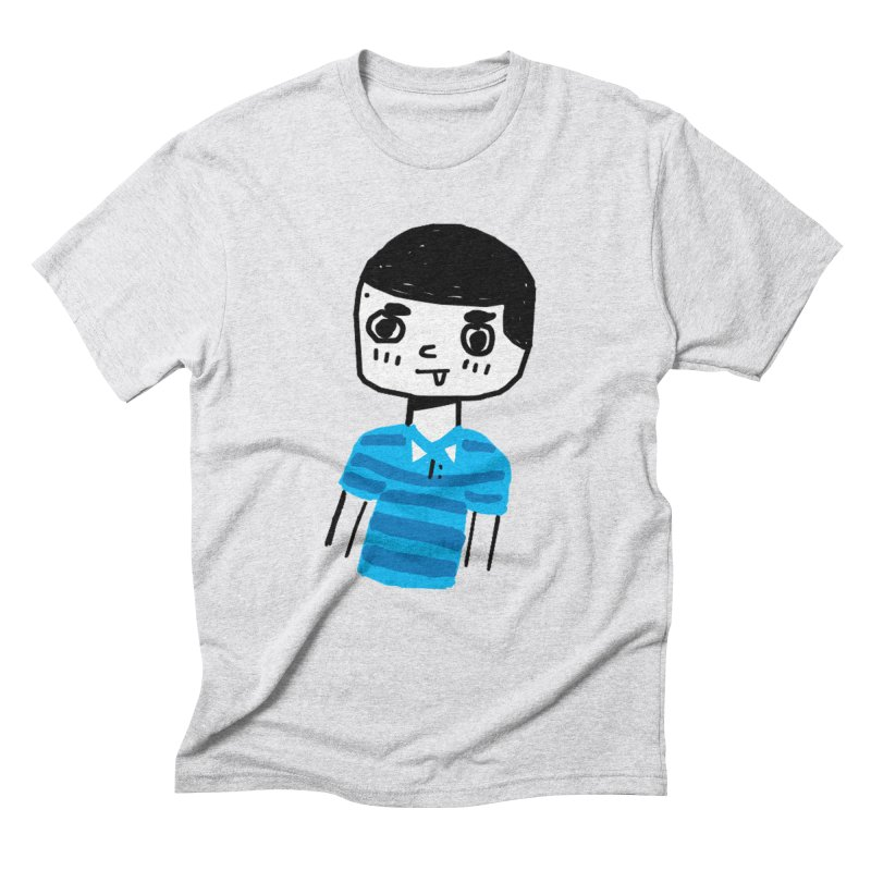 Hello Moisés! Men's Triblend T-Shirt by moiseslozano's Artist Shop