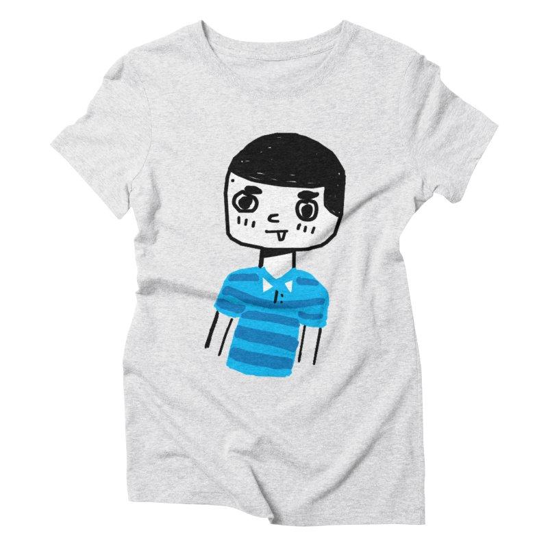 Hello Moisés! Women's Triblend T-Shirt by moiseslozano's Artist Shop