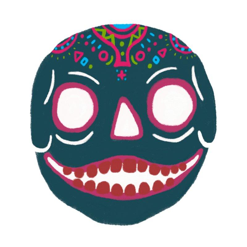 Crayon Skull None  by moiseslozano's Artist Shop