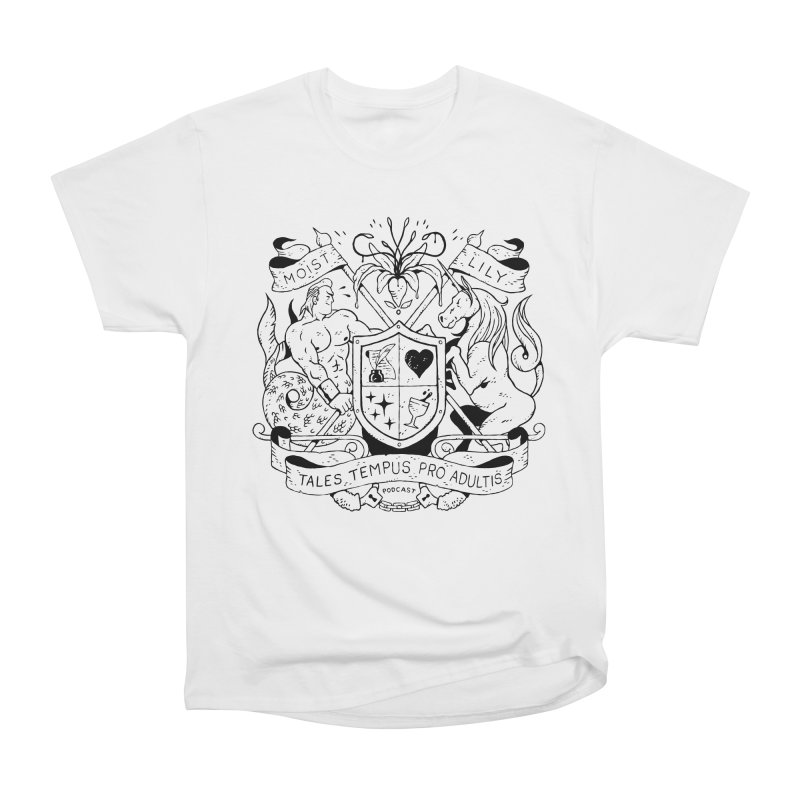 Coat of Charms Women's T-Shirt by The Gentle Listener's Dashing Haberdashery