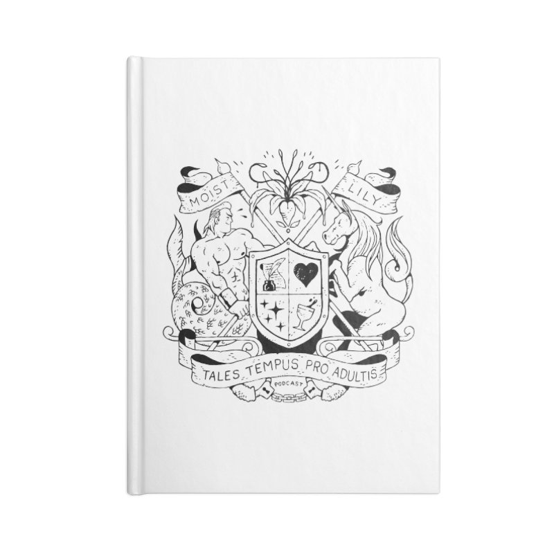 Coat of Charms Accessories Notebook by The Gentle Listener's Dashing Haberdashery
