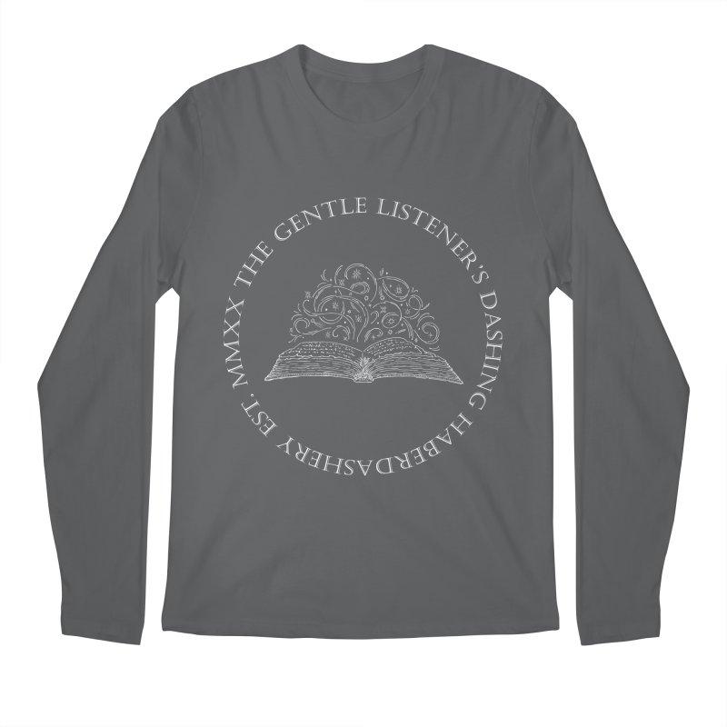 GLDH MMXX - White Men's Longsleeve T-Shirt by The Gentle Listener's Dashing Haberdashery