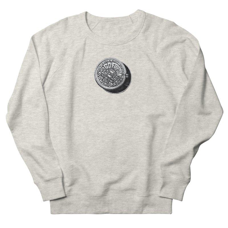 Go Freegan Men's French Terry Sweatshirt by mojambo's Artist Shop