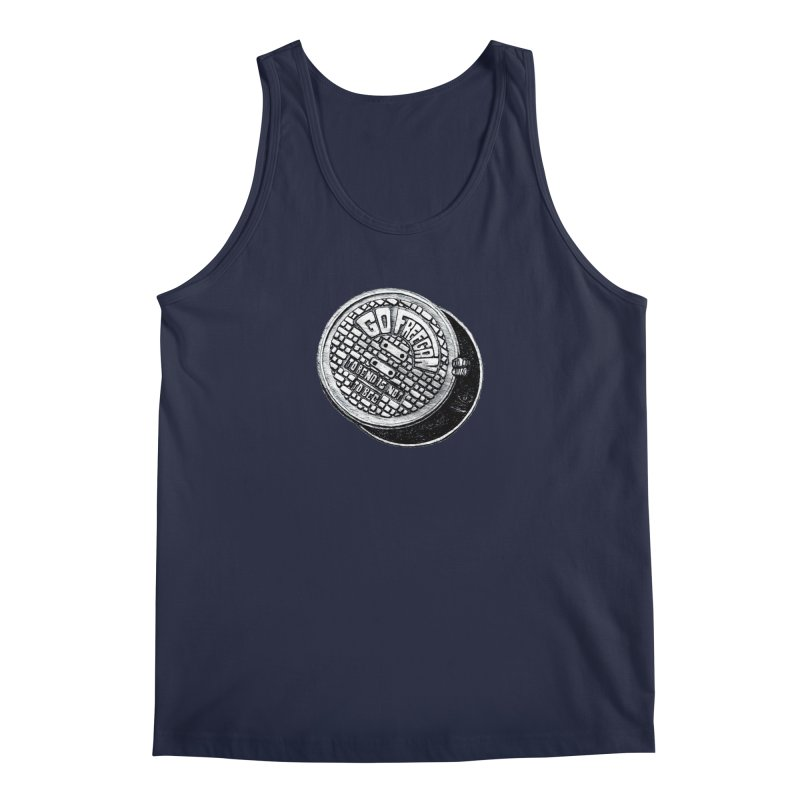 Go Freegan Men's Regular Tank by mojambo's Artist Shop