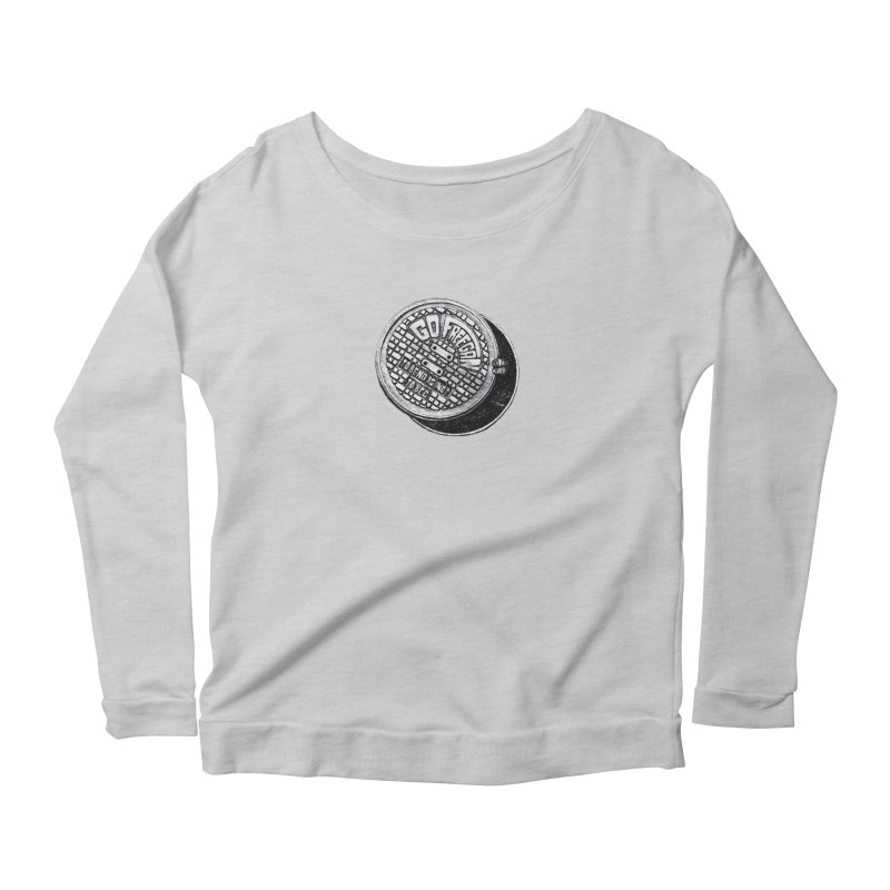 Go Freegan Women's Scoop Neck Longsleeve T-Shirt by mojambo's Artist Shop