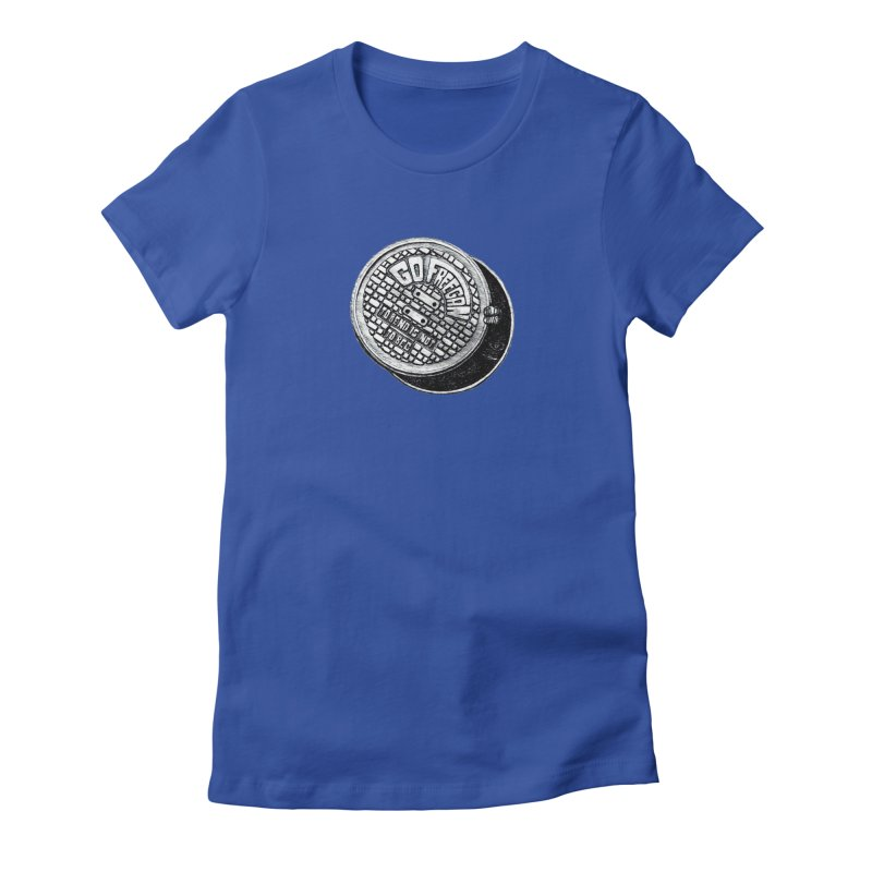 Go Freegan Women's Fitted T-Shirt by mojambo's Artist Shop
