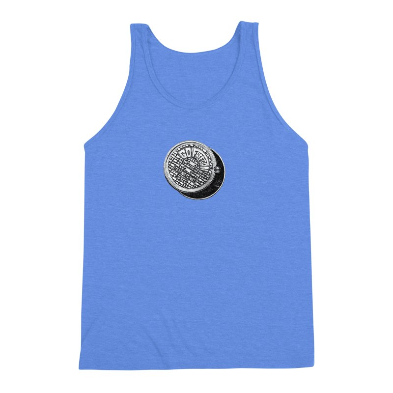 Go Freegan Men's Triblend Tank by mojambo's Artist Shop