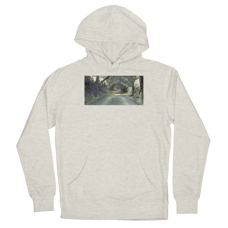Floresta Women's French Terry Pullover Hoody by mojambo's Artist Shop