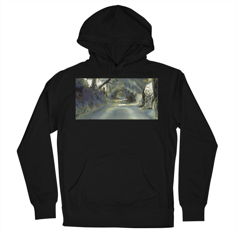 Floresta Men's French Terry Pullover Hoody by mojambo's Artist Shop
