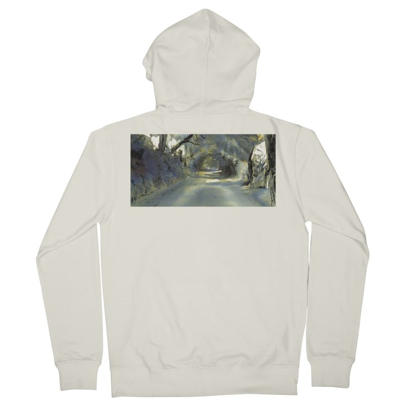 Floresta Men's Zip-Up Hoody by mojambo's Artist Shop