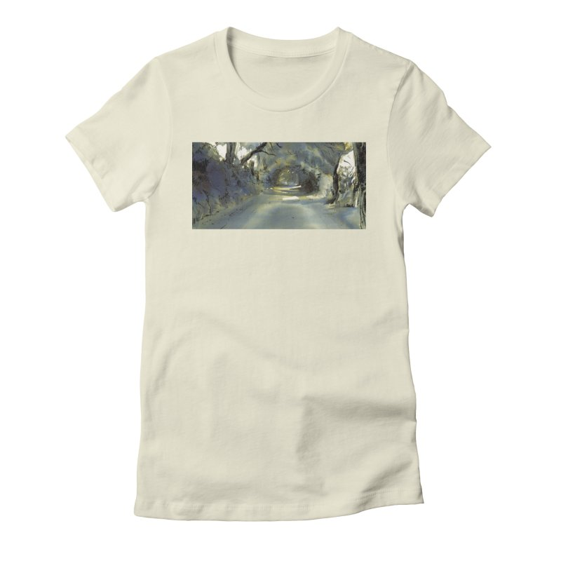 Floresta Women's Fitted T-Shirt by mojambo's Artist Shop