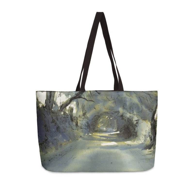 Floresta Accessories Weekender Bag Bag by mojambo's Artist Shop