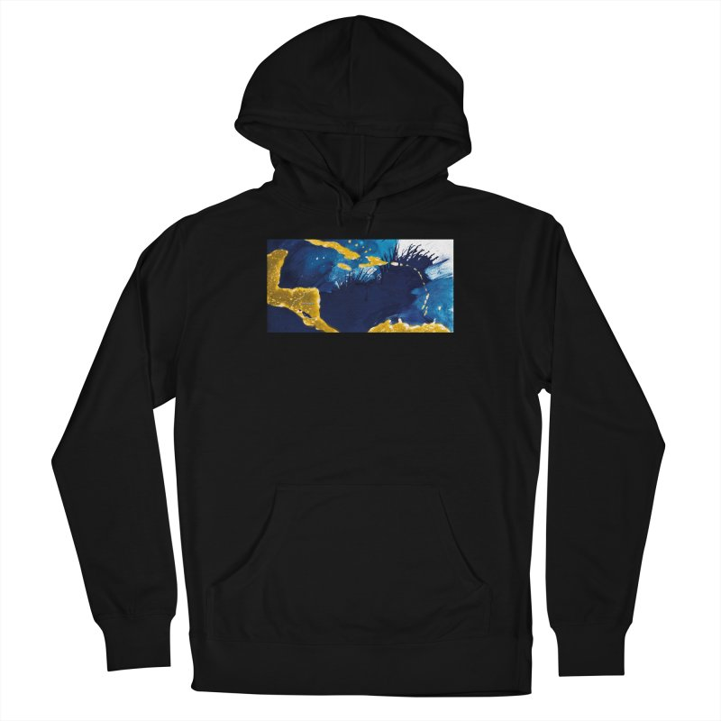 Caribe Women's French Terry Pullover Hoody by mojambo's Artist Shop