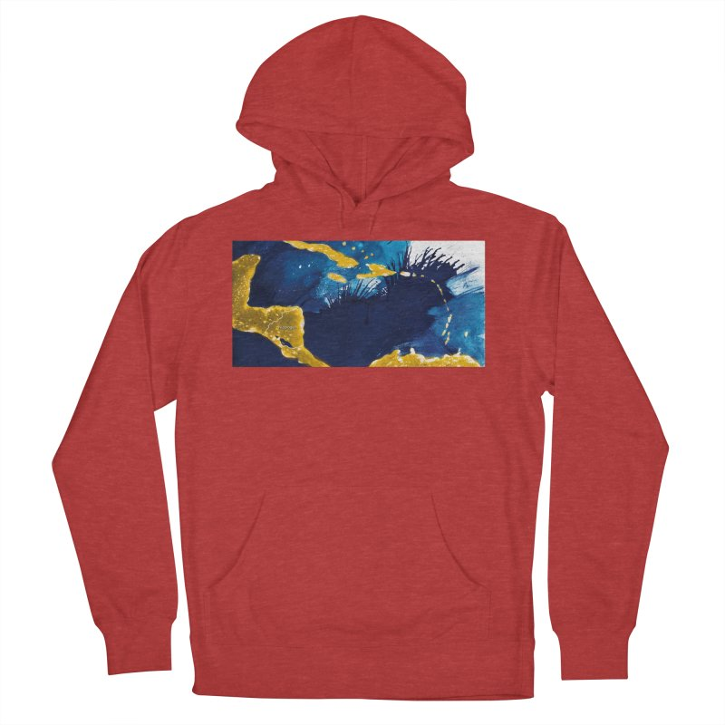 Caribe Men's French Terry Pullover Hoody by mojambo's Artist Shop