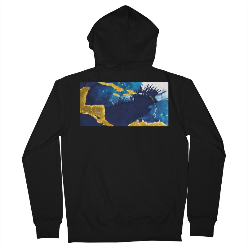 Caribe Men's Zip-Up Hoody by mojambo's Artist Shop