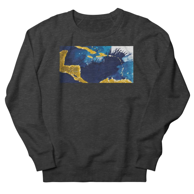 Caribe Men's French Terry Sweatshirt by mojambo's Artist Shop