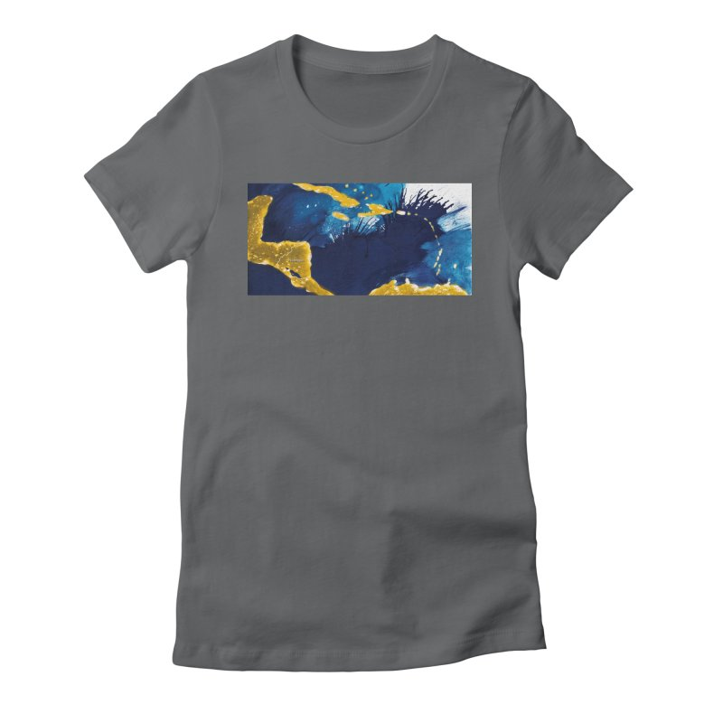 Caribe Women's Fitted T-Shirt by mojambo's Artist Shop