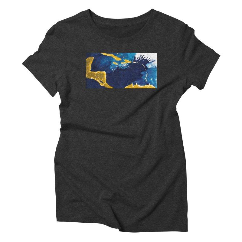 Caribe Women's Triblend T-Shirt by mojambo's Artist Shop