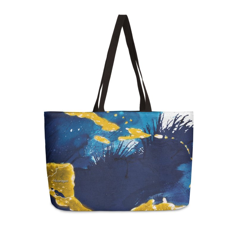 Caribe Accessories Weekender Bag Bag by mojambo's Artist Shop