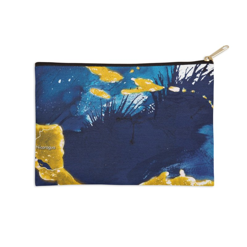 Caribe Accessories Zip Pouch by mojambo's Artist Shop